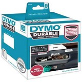 Image of Dymo Durable Labels Self-Adhesive 59mmx102mm White Ref 1976414 [Pack 50]