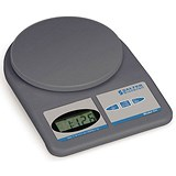 Image of Salter Letter and Parcel Scale / Electronic / 1g Increments / Capacity 5kg / Grey