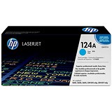 Image of HP 124A Cyan Laser Toner Cartridge
