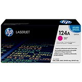 Image of HP 124A Magenta Laser Toner Cartridge