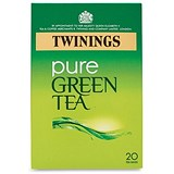 Image of Twinings Pure Green Tea Bags / Individually Wrapped / Pack of 20
