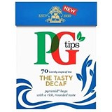 PG Tips Decaf Tea Bags - Box of 80
