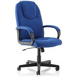 Image of Trexus Intro Managers Armchair - Blue