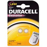 Image of Duracell Alkaline Battery for Calculator or Pager / 1.5V / Pack of 2