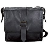 Image of Pride and Soul Neo Shoulder Bag with 16 inch Laptop Section / Leather / Dark Brown