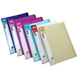 Image of Concord Display Book / 20 Pockets / A4 / Assorted / Pack of 12