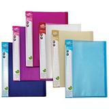 Image of Concord Display Book / 40 Pockets / A4 / Assorted / Pack of 12