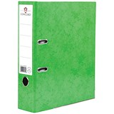Image of Concord Contrast A4 Lever Arch Files / Laminated / 65mm Spine / Lime / Pack of 10