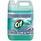 Image of Cif Professional Oxygel All Purpose Cleaner / Ocean / 5 Litres