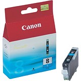 Image of Canon CLI-8 Cyan Inkjet Cartridge