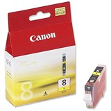 Image of Canon CLI-8 Yellow Inkjet Cartridge