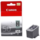 Image of Canon PG-50 Black Inkjet Cartridge