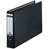 Image of Leitz Board A3 Lever Arch Files / Landscape / 77mm Spine / Black / Pack of 2