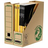 Fellowes Bankers Box Earth Magazine File / Recycled / Self-Assembly / A4+ / Pack of 20