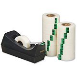 Image of Scotch Magic Tape 900 / Natural Fibre Film / 19mmx33m / Matt / Pack of 14 and C38 Dispenser