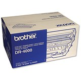 Image of Brother DR4000 Black Laser Drum Unit
