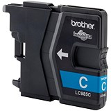 Image of Brother LC985C Cyan Inkjet Cartridge