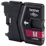 Image of Brother LC985M Magenta Inkjet Cartridge