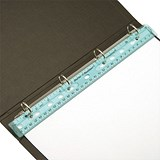 Image of Ringbinder Ruler Shatter-resistant 12inch 300mm Clear