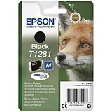 Image of Epson T1281 Black DURABrite Inkjet Cartridge
