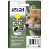 Image of Epson T1284 Yellow DURABrite Inkjet Cartridge