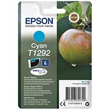 Image of Epson T1292 Cyan DURABrite Inkjet Cartridge
