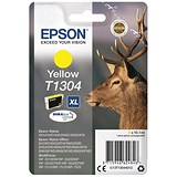 Epson T1304 XL Yellow DURABrite Inkjet Cartridge