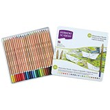 Derwent Academy Watercolour Pencils / Assorted Colours / Pack of 24