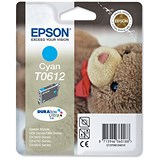 Image of Epson T0612 Cyan Inkjet Cartridge