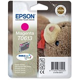 Image of Epson T0613 Magenta Inkjet Cartridge