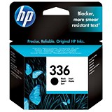 Image of HP 336 Black Ink Cartridge