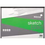 Image of Silvine Popular Drawing Pad / A3 / Acid-free / 90gsm / 50 Sheets