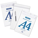 Image of Vestry Accountants Pad / 6 Cash Columns / 80 Leaf / Ref: CV2085