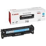 Image of Canon 718 Cyan Laser Toner Cartridge