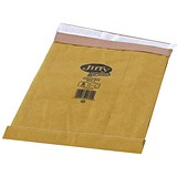 Jiffy No.3 Padded Bag Envelopes / 195x343mm / Brown / Pack of 100