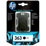Image of HP 363 Black Ink Cartridge