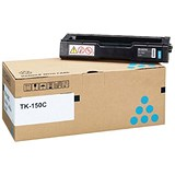 Image of Kyocera TK-150C Cyan Laser Toner Cartridge
