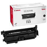 Image of Canon 723 Black Laser Toner Cartridge
