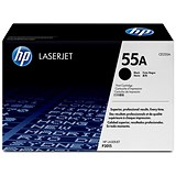 Image of HP 55A Black Laser Toner Cartridge