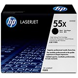Image of HP 55X Black Laser Toner Cartridge