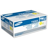Image of Samsung CLT-Y5082L High Yield Yellow Laser Toner Cartridge