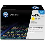 Image of HP 643A Yellow Laser Toner Cartridge