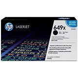 Image of HP 649X High Yield Black Laser Toner Cartridge