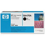 HP 501A Black Laser Toner Cartridge
