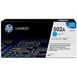 Image of HP 502A Cyan Laser Toner Cartridge
