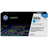 Image of HP 503A Cyan Laser Toner Cartridge