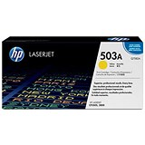 Image of HP 503A Yellow Laser Toner Cartridge