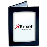 Rexel Clearview Display Book / A3 / 24 Pockets / Black