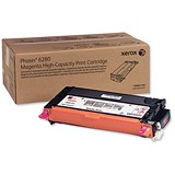 Image of Xerox Phaser 6280 High Yield Magenta Laser Toner Cartridge