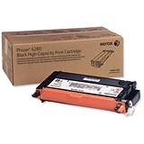 Image of Xerox Phaser 6280 High Yield Black Laser Toner Cartridge